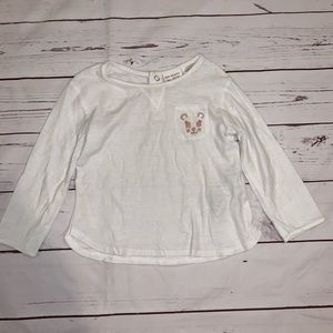 Zara girls LS shirt